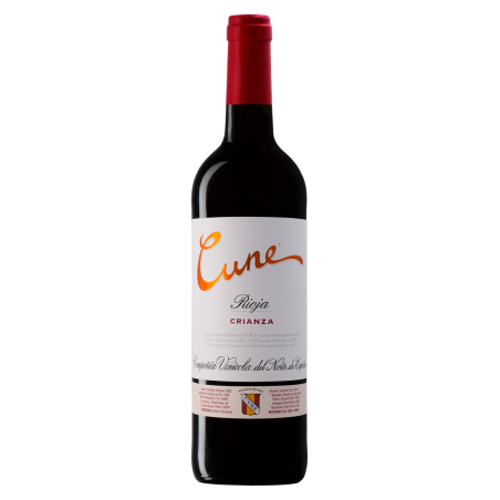 Cune Crianza red wine D.O....