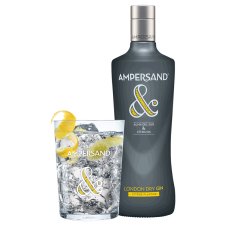 AMPERSAND Citrus Dry 0.70L Gin