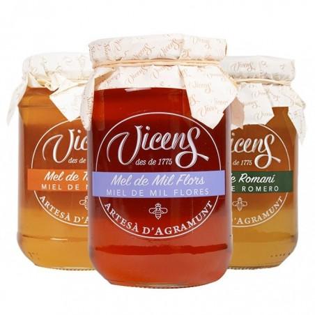 Pack de 3 miels artisanaux...