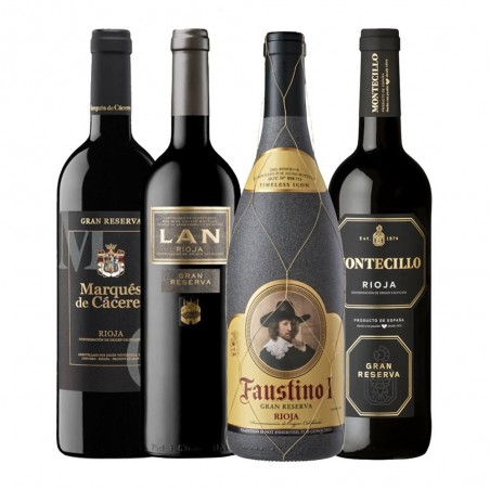 Pack de vins Gran Reserva